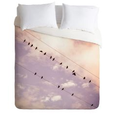 Shannon Clark Angelic Duvet Cover | DENY Designs Home Accessories