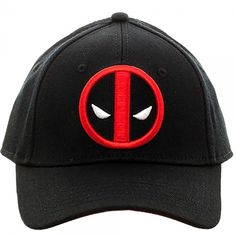 Amazon.com - Marvel Deadpool Flex Cap Baseball Hat Deadpool Hat f11c16ca399