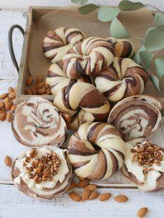 「アーモンドミルクココアベーグル」vivian | お菓子・パンのレシピや作り方【cotta*コッタ】