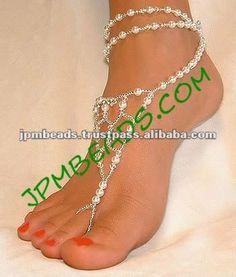 #beaded barefoot sandals, #barefoot jewelry, #wedding barefoot sandals