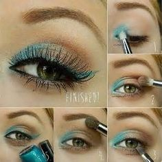 Hazel Eye Makeup Step by Step