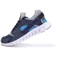 uk availability 6cfee 17174 Mens Nike Huarache Free 2012 Mid Navy Blue Grey Tide Pool Blue S New Nike  Running
