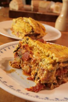 Enjoy this delicious vegetable lasagna recipe from our own local homegrown chef, Meghan!