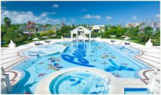 Take a dip in the refreshing French Village Pool. | Beaches Resorts | Turks & Caicos