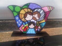 See related links to what you are looking for. Christmas Rock, Christmas Nativity, Christmas Crafts, Merry Christmas, Christmas Decorations, Acrylic Paint On Wood, Painting On Wood, Nativity Painting, Diy And Crafts
