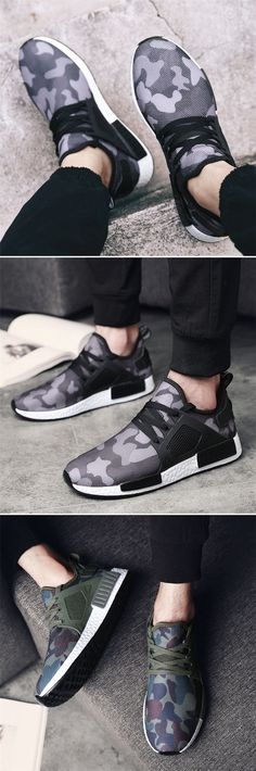 Men Camouflage Mesh Breathable Outdoor Running Shoes Athletic Casual Sneakers is fashionable and cheap, buy best sneakers for plantar fasciitis for family-NewChic. Mens Fashion Shoes, Sneakers Fashion, Fashion Bags, Runway Fashion, Best Sneakers, Casual Sneakers, Vans Camo, Sneakers For Plantar Fasciitis, Nike Free Shoes
