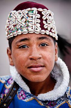 Africa | Berber boy in the Marrakech market square.  Morocco | ©Jon Reid