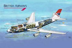 Vintage Airliner Cut-aways - Imgur