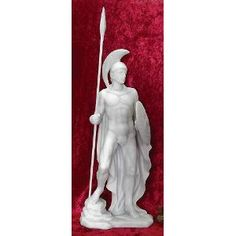 God of War Ares (Mars) Greek Roman Mythology Statue, 12-1/2-inch Sculpture