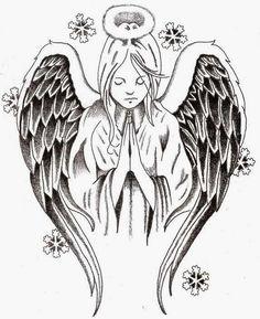 Tattoos Book: 2510 FREE Printable Tattoo Stencils: Angels & Fairies
