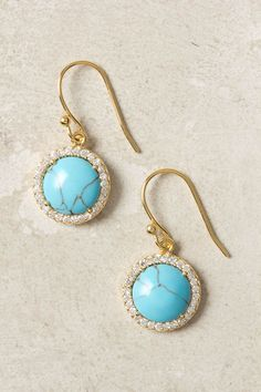 WANT - Marbled Eclipse Earrings - Anthropologie.com