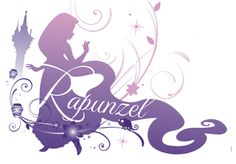 Silhouette rapunzel - this would make a great shirt Disney Princess Silhouette, Disney Princess Rapunzel, Princesa Disney, Disney Tangled, Tangled 2010, Walt Disney, Disney Nerd, Disney Girls, Disney Love