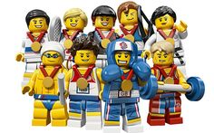 Go Team GB!  London 2012 Olympics: Team GB lego: in pictures
