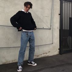 Indie Outfits, Retro Outfits, Boy Outfits, Vintage Outfits, Moda Streetwear, Streetwear Fashion, Stylish Mens Outfits, Casual Outfits, Men Casual