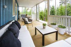 Älvsbytalo - Koti täynnä elämää. Suvetar, 4h+k+s, 101,5 m². Avara kuisti/terassi.