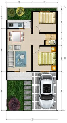 3d House Plans, Indian House Plans, Small House Floor Plans, Vintage House Plans, Simple Floor Plans, Simple House Plans, Beautiful House Plans, 3 Storey House Design, Small House Design