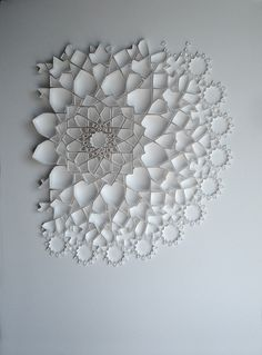 Mesmerizing paper work by artist and paper engineer Matt Shlian. Often starting without a clear goal in mind, Shlian imposes his own limitations as he goes, sometimes trying to use only curved folds or a particular length of line. See … Continue reading →