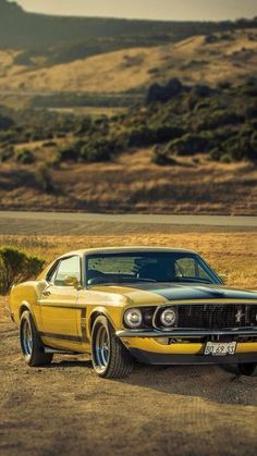 1969 Mustang. Check out Facebook and Instagram: @metalroadstudio Very cool! #musclecars #mustangvintagecars #VintageMuscleCars