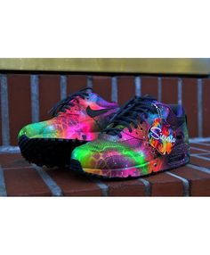detailed look bff49 ce5a3 Chaussures Nike Air Max 90 Candy Drip Galactimax Black Trainer Shoes, Air  Max 90,