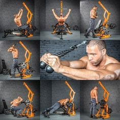 Workout Station TRIPLEX MegaTec Serie in use Part 2 is part of Workout stations - Gym Workout Chart, Gym Workout Tips, No Equipment Workout, Workout Videos, Fun Workouts, Fitness Equipment, Best Forearm Exercises, Forearm Workout, Dumbbell Back Workout