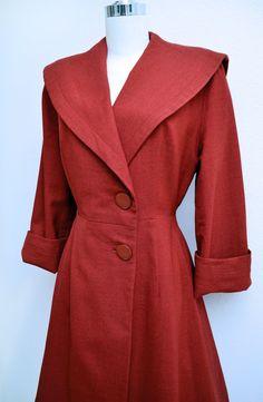 Vintage 1940s Coat via Etsy.