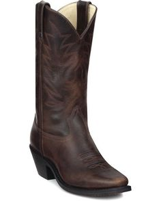 "Boots for Chelsa's Wedding Women's 11"" Western Boots - Mushroom $129.99"