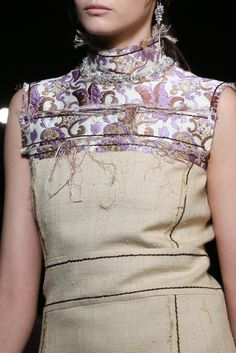 Rough Around the Edges: Designers Cut Loose With Fringe and Fraying for Spring - Gallery - Style.com