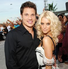 Nick Lachey told Jenny McCarthy that he's glad he didn't have kids with his ex-wife Jessica Simpson -- plus, pregnant wife Vanessa Minnillo isn't into sex right now