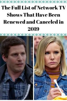 The Full List of Network TV Shows That Have Been Renewed and Canceled in 2019 Awesome Wow, Amazing, Laughing Therapy, Family Relations, Medical Drama, Celebrity Gallery, Good Doctor, Reality Tv Shows, Talent Show