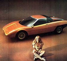 Ford GT-70 Turin Concept (Ghia), 1971