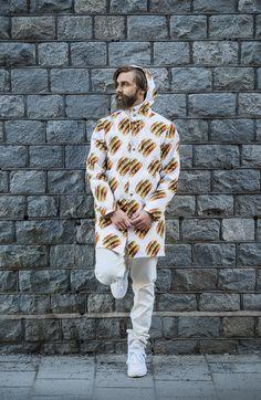 Enjoy the rainy summer in style. The BigMac raincoat is now available at www.bigmacshop.se #bigmac #bigmacshop #fashion #apparel #streetwear #festival