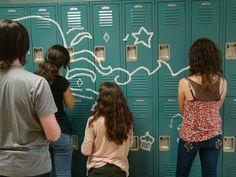 . Art of Apex High School: Masking Tape Murals 2