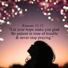 Image result for romans 12:12