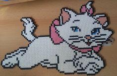 Aristocats Marie Hama Beads by Katojana.deviantart.com on @deviantART