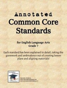 Take the guesswork and ambivalence out of the #CCSS with this FREE download!