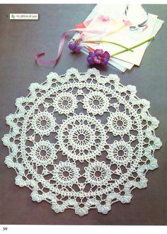 Nihon Vogue Fine Crochet Lace 90 page Crochet Pattern Instruction Book