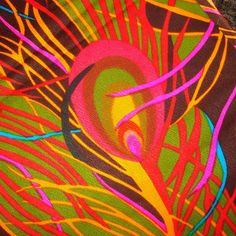 Peacock Feathers - VHY Hawaiian Textiles - SelvedgeShop, $14.00