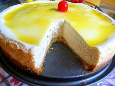 LEMON DELUXE CHEESECAKE   This firm, yet creamy, New York-style cheesecake bursts with fresh lemon flavor.  I made this ch...