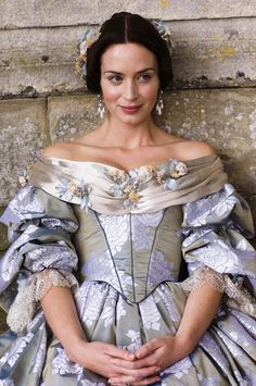 The Young Victoria (2009). Costume design by Sandy Powell. I love this movie.