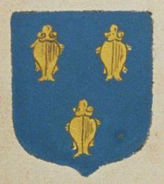Feu Pierre CHABOICEAU, marchand cabaretier à Vivosne, suivant la déclaration de Marie FAURE, sa veuve. Porte : d'azur, à trois chaboiceaux d'or, posez deux et un | N° 9