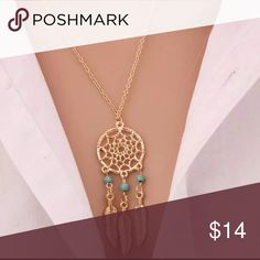 New Boho Necklace New gold tone necklace 4 Bidden Boutique  Jewelry Necklaces