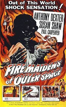 One-sheet | Fire Maidens of Outer Space (1956)