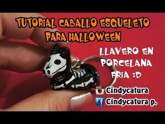 Skeleton Horse cold porcelain / polymer clay tutorial