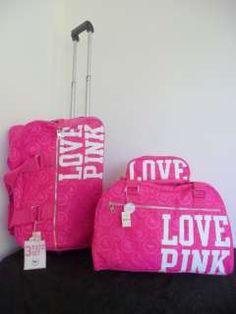 Victoria s Secret PINK Three-Piece Travel Set Vs Pink 3ee026694ff