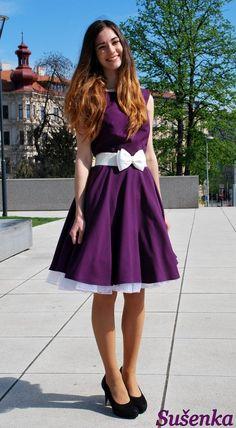 e692ae18c4ad Better when I am dancing - purpurová   Zboží prodejce Sušenka fashion