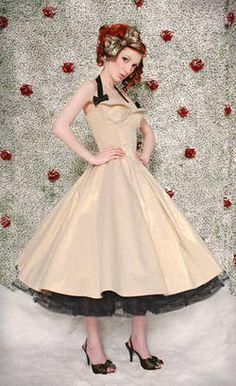 Whirlingturban Vintage Brautkleid
