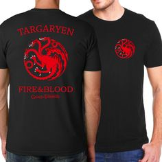 Excited to share some of our favorites with you. Targaryen Fire & ... Check it out here! http://lestyleparfait.co.ke/products/targaryen-fire-blood-men-t-shirt-casual-slim-fit-t-shirt-fashion-men?utm_campaign=social_autopilot&utm_source=pin&utm_medium=pin #fashionkenya #style #nairobi
