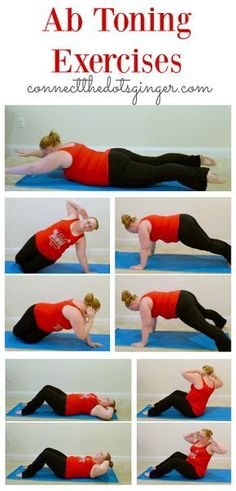 Plus size fitness   Ab toning exercises. Helping to strengthen your core after baby.