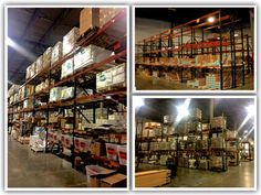 Pallet Racking for warehouses and Distribution Centers