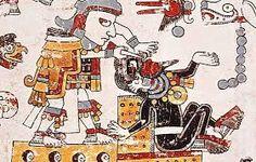 Resultado de imagen para PINTURAS EN MUROS DE LA GUERRA DE AZTECAS CON ESPAÑOLES